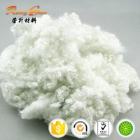 Hollow conjugated polyester staple fiber for filling toys