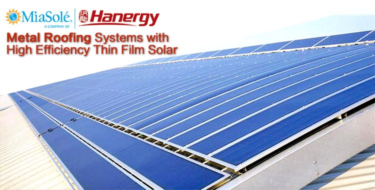 Hanergy 65w Miasole semi flexible solar panel