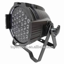 black die cast aluminium par 64 can led stage performance lights