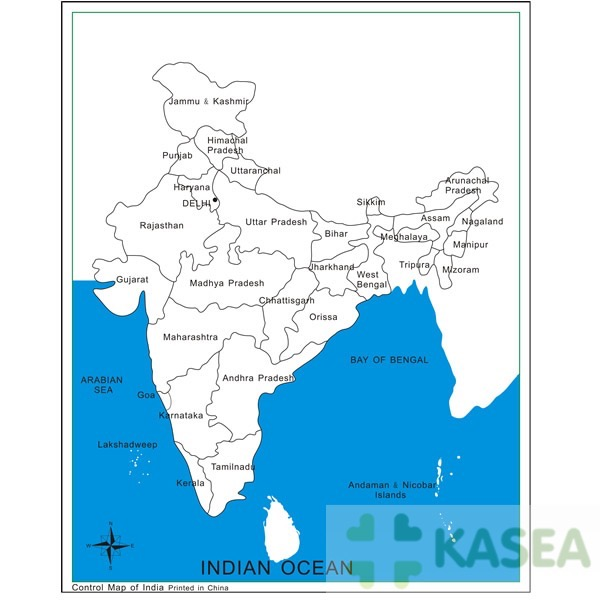 Montessori kids funny toys for Labeled India Control Map