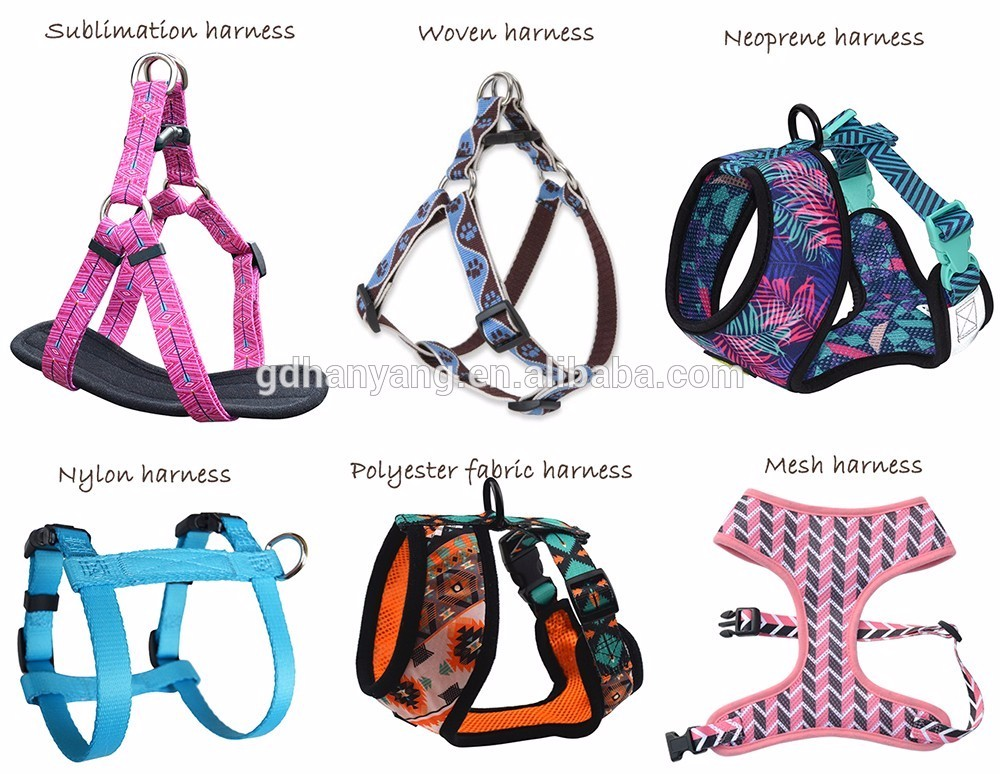 Top Quality Factory Price Dog harness manufacturer matched leash available Custom Brand Label