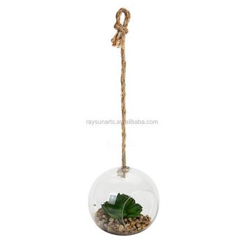 Hanging Terrarium Glass Vase Flower Air Plant Pot Container Buy