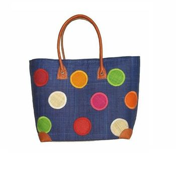 Paper Straw Beach Bags Plastic Woven
