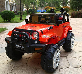 Jeep Baby Plastic Ride On Remote Control Toys Cars Electric Toy