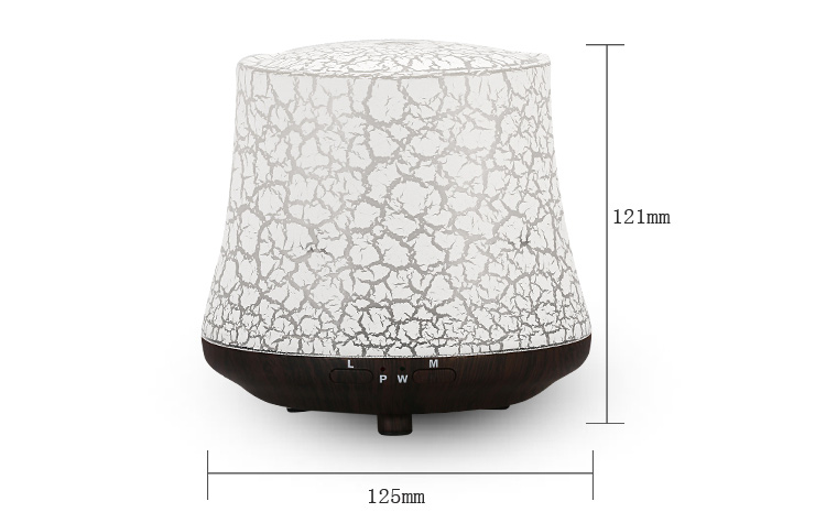 Best feedback led light green air ultrasonic portable aromatherapy electric aeration essential oil fragrance diffuser