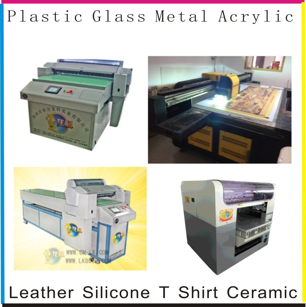 full range sizes digital flatbed corrugated plastic printer