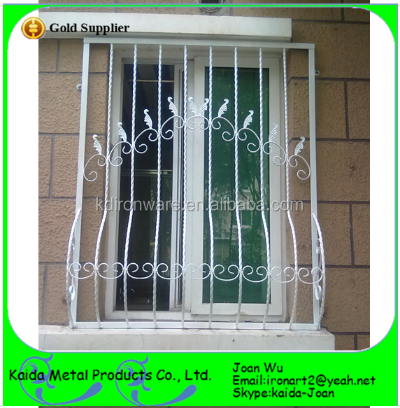 Wholesale Simple Steel Security Window Grilles Design For Silding windows