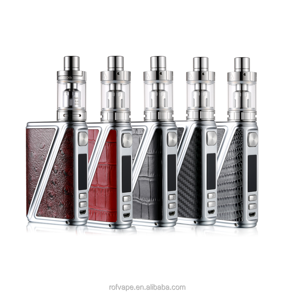 Factory direct offer free vape mods 233w box authentic Calf-Skin CE VW VT mods