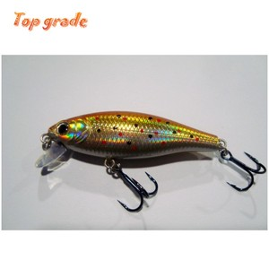 Excellent quality japan fishing lures with 3d eyes for fishing lures minnow