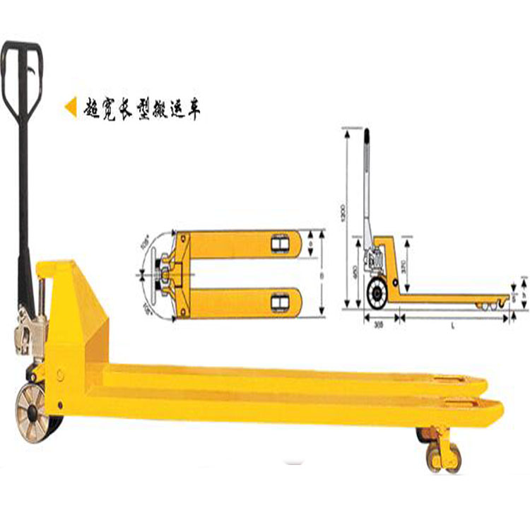 Hot sale small manual pallet jack
