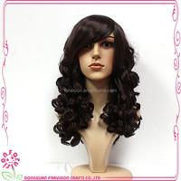 Wholesale brazilian virgin silk top full lace wigs , cheap women wig hair