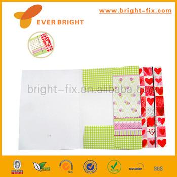 hot sale and supplier paper folderfc size paper file folder decorative