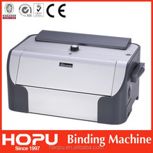 electric punching hole machine with binding
