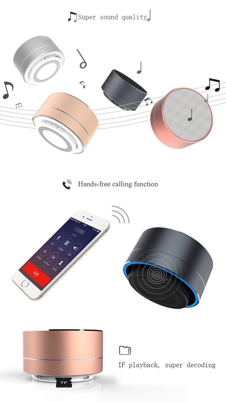 Music Apollo Wireless Portable Mini a10 Waterproof Bluetooth Speaker 2016