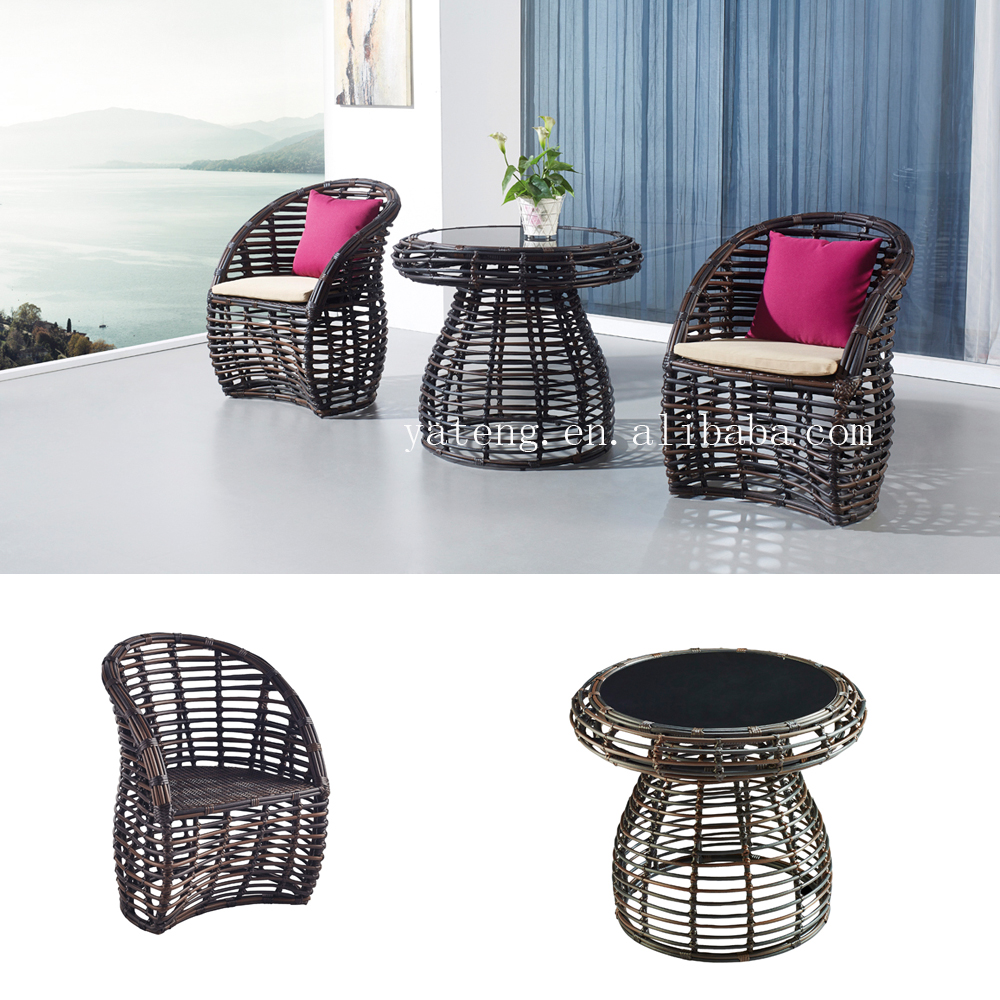 Moderno impermeable artificial rattan de exterior muebles for Muebles rattan jardin baratos