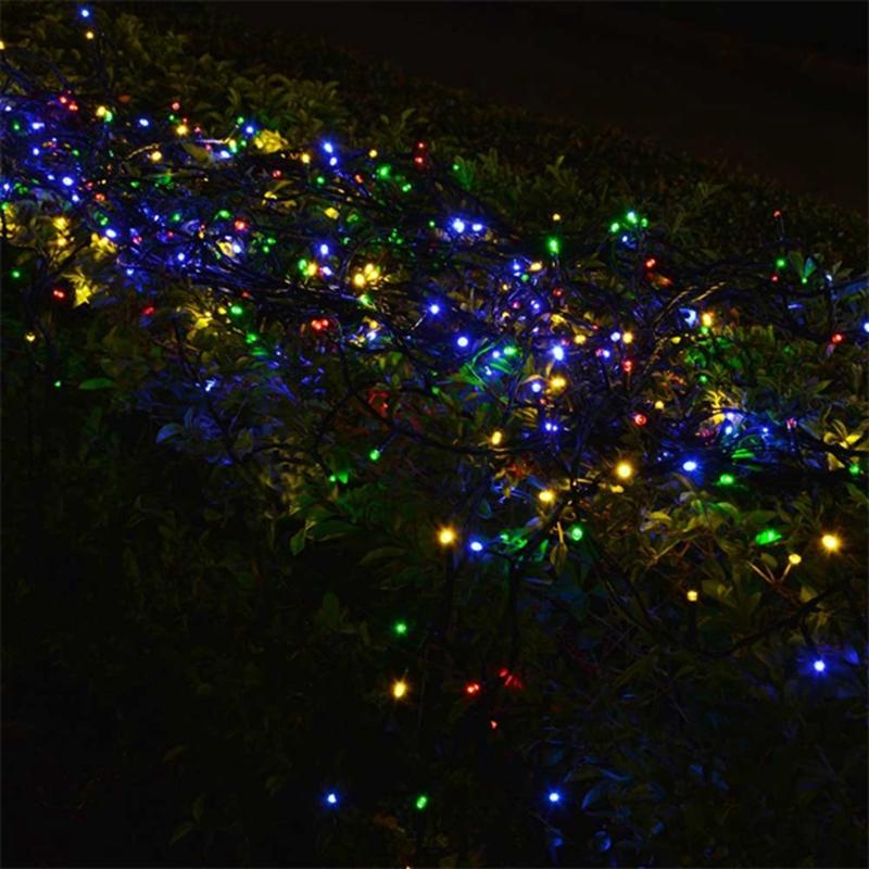 Solar String 10M 50 LED Powered Xmas Garland Fairy Camping