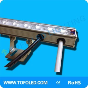 24V 1000mm 48leds rigid led strip with aluminum housing