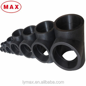 Plastic Pipe Fitting PE100/HDPE/PE Reducing Tee for Water Pipeline