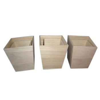 moderne fait la main en bois pot de fleur jardini re en. Black Bedroom Furniture Sets. Home Design Ideas