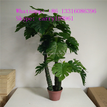 Manufacturer Wholesale Artificial Large Leaf Indoor Plants ...