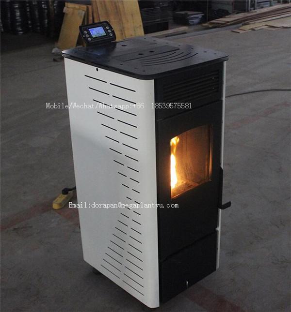 Smoke-free Environment Waste Wood Pellet/Corn Stalk Pellet Boiler Burner/ Sawdust Particles Combustor Machine