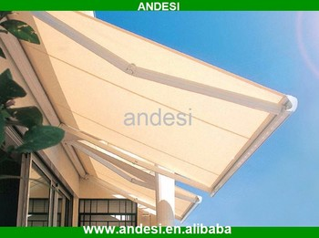 Waterproof Patio Awning Automatic Folding Roof