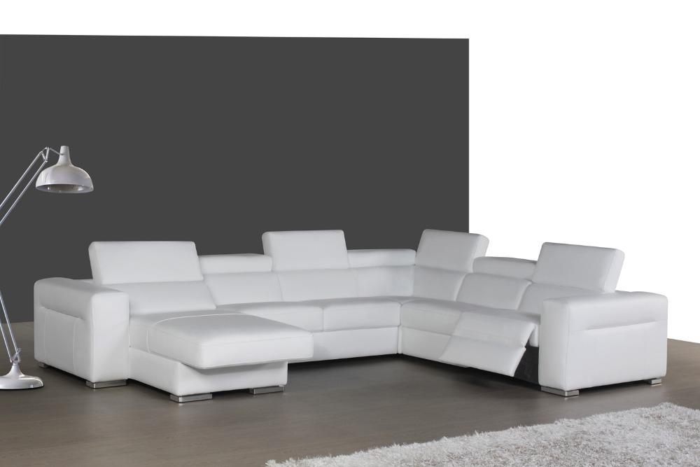 top graduado italiano cuero genuino sof seccional sof de la sala muebles para el hogar de