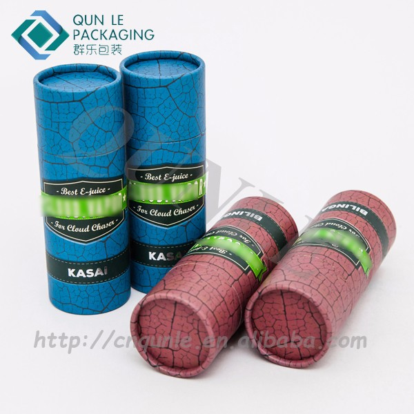Supply Custom 30ml E juice Glass Bottle Cardboard Tubes