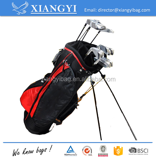 High quality customized stand golf equipment bag