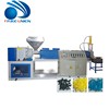 Hot melt glue pla waste plastic recycling hdpe carbon black granule production making machine line