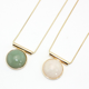 Women zinc alloy necklace chain jade jewelry new fashion necklace delicate chocker necklace men chain