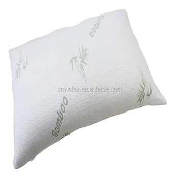 adjustable bamboo shredded memory foam pillow
