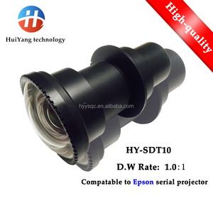 Factory direct sales HY-SDT10 short throw lens(1.0:1) for EPSON projector