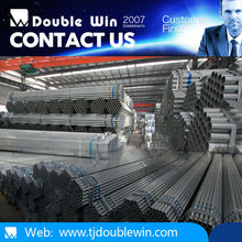 Round galvanized steel Pipe we are the manufacture oriental trading