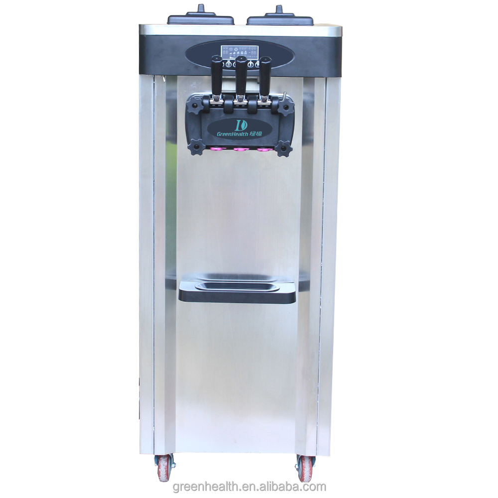 Green&Health Stainless Steel Ice Cream Machines for Hotel Equipment Used Commercial Refrigerator Ice Cream Maker Machine Price
