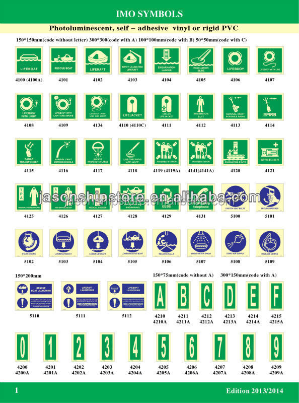 Imo Safety Symbols Imo Safety Symbols Suppliers And Manufacturers