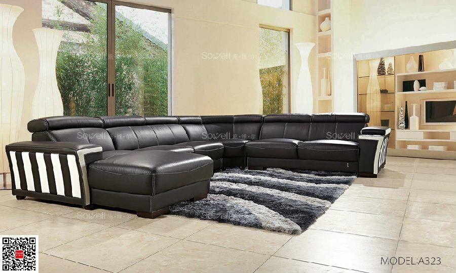 Wholesale U Shaped Sofa Set Dubai Leather Sofa Furniture Man