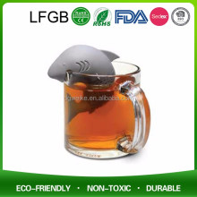 new products tea strainer silicone tea infuser stainless steel tea infuser silica gel
