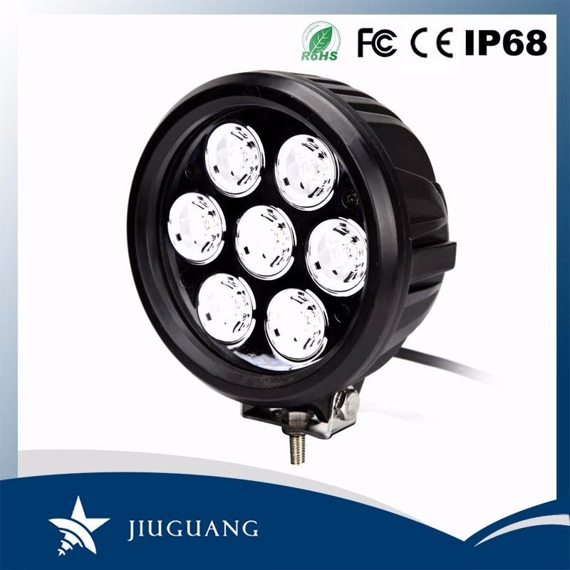 Car Accessories Jeep Offroad Lighting 6000K 70W Led Work Light 12V