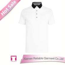 High quality 100% cotton white polo shirt/ custom polo shirts/ polo t shirt for man