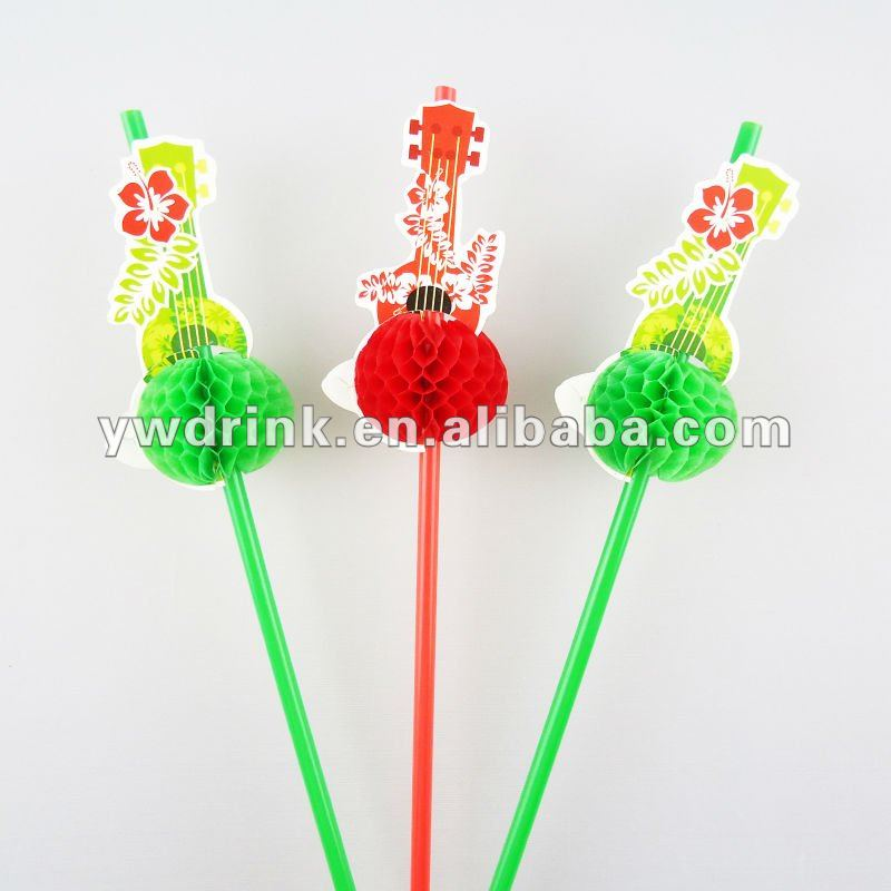 Guitar Straw For Drinking