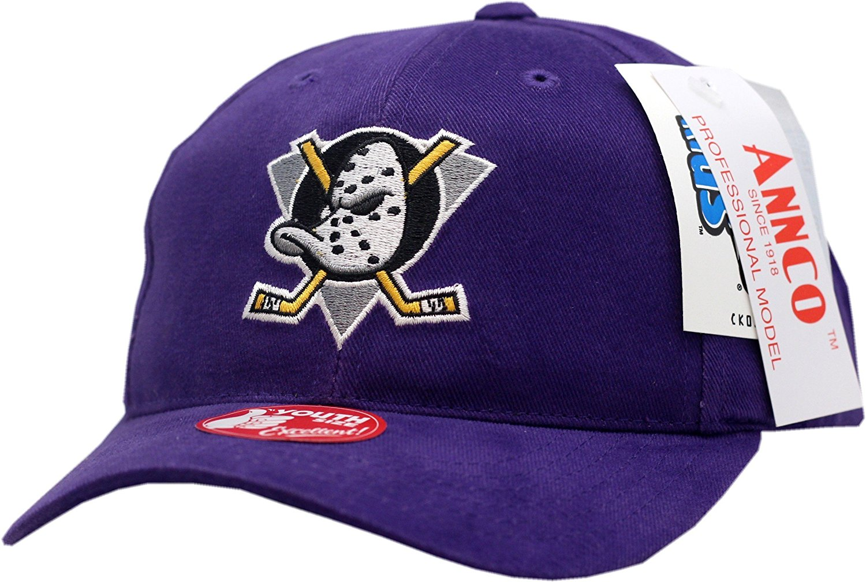 674520605ed Get Quotations · Anaheim Mighty Ducks Youth Snapback Hat Replica Logo Block  11825