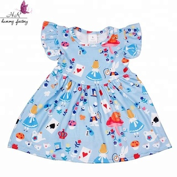 709814844b62 Toddler Girl Boutique Clothing Wholesale Summer Baby Pearl Kids Milk Silk  Dress