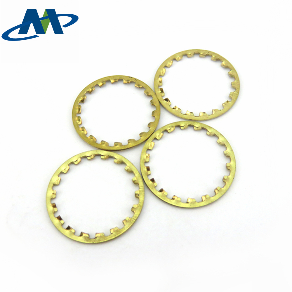 Standard Zinc Plated Cut Washer , Carbon Steel Closed Washer