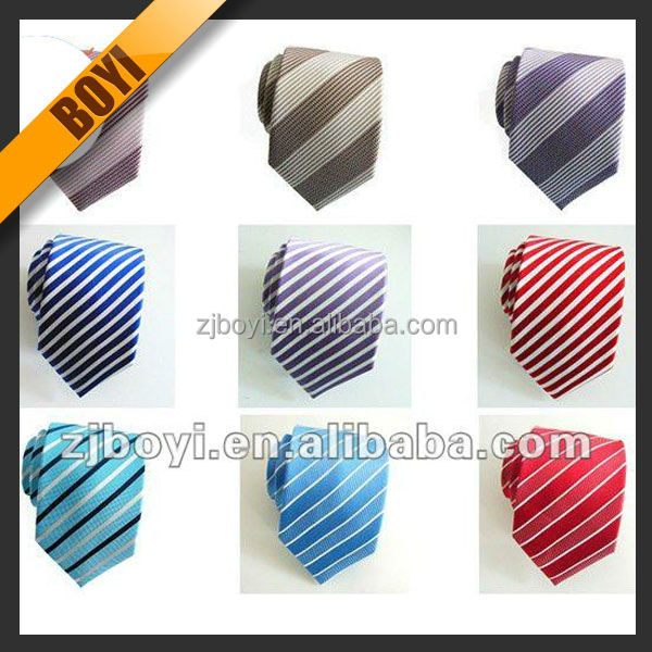 Colorful Mixed Design Custom Silk Kids Tie For Children