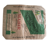 Industry kraft paper bag for packing 50kg cement