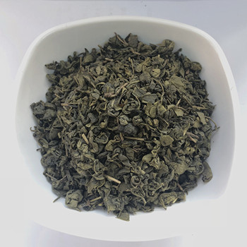 Big leaf loose green tea 9375 in bulk for middle east Asia