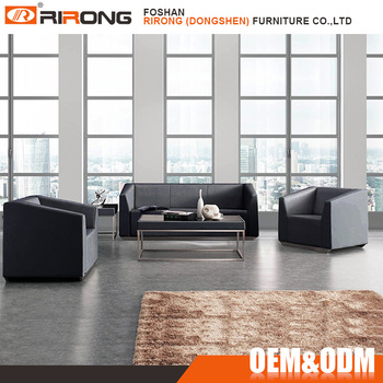 Modern White Color Leather 5 Seater Sofa Sets For Living Room Set