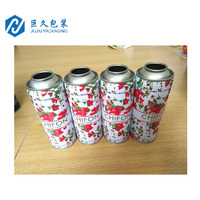 Body Perfume Spray Container Aerosol Tin can With4 Color Printing