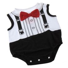 "Fashion Boy ""gentleman"" Commercio All'ingrosso Voce di Bambino Tuta <span class=keywords><strong>Per</strong></span> Baby Cool"